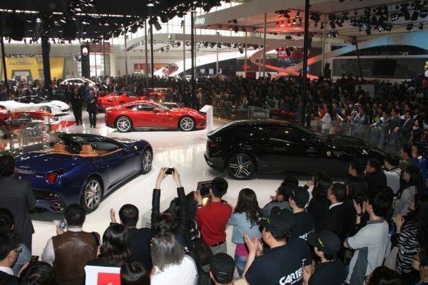 Ferrari stand Auto China 2012