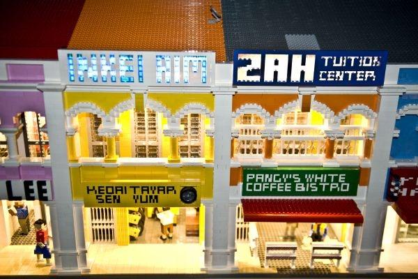 Lego replica Malaysian street