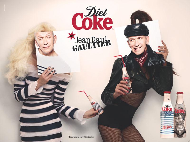 Diet Coke by Jean Paul Gaultier Campaign