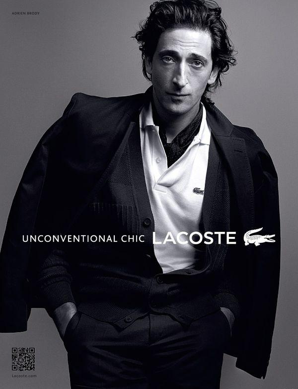 Adrien Brody Lacoste