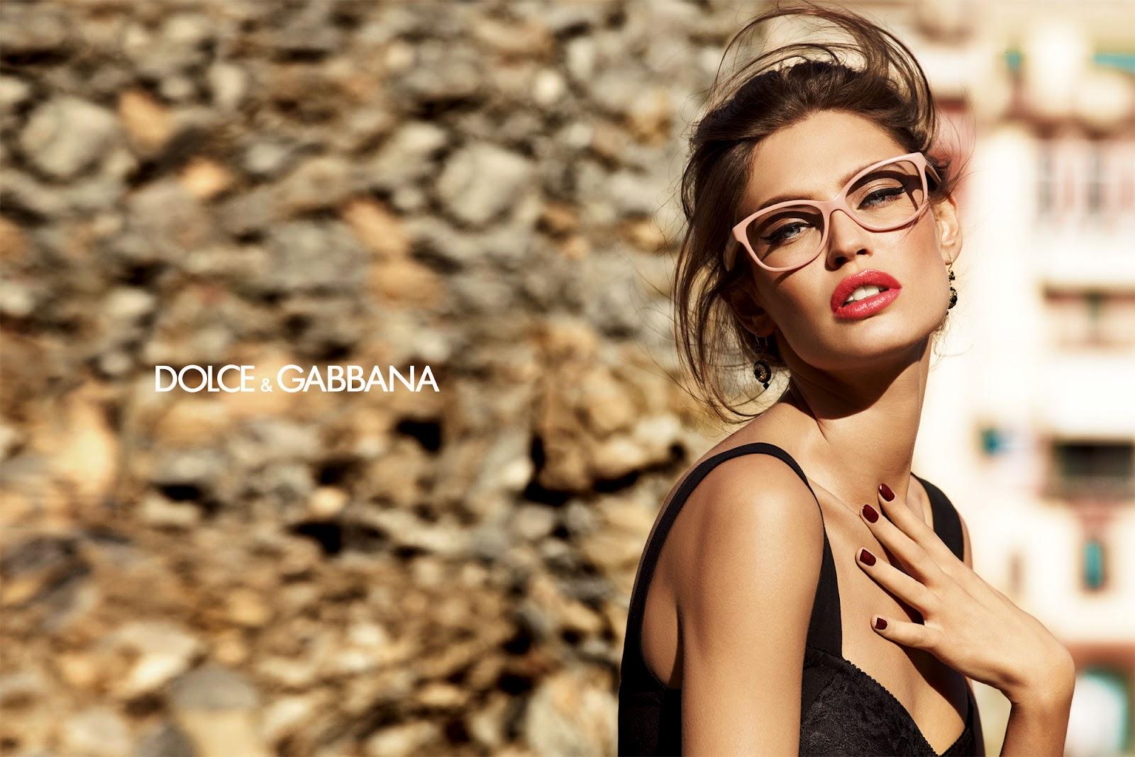 Bianca Balti Dolce Gabbana Eyewear