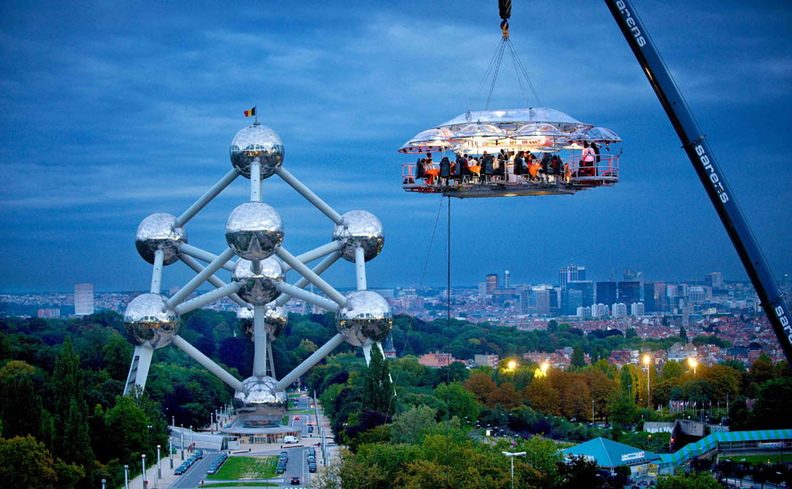 Dinner in the Sky Brussels