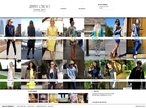 Jimmy Choo 247 Stylemakers