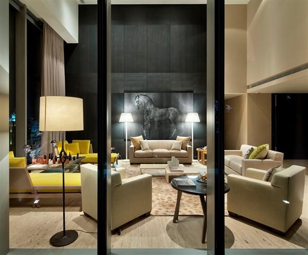 Living room by Hermes