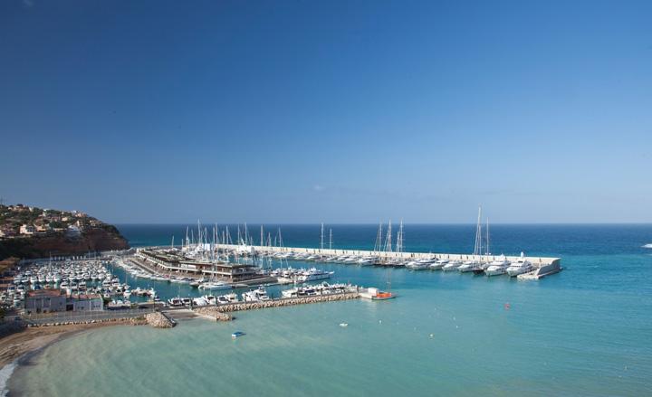 Port Adriano marina by Philippe Starck