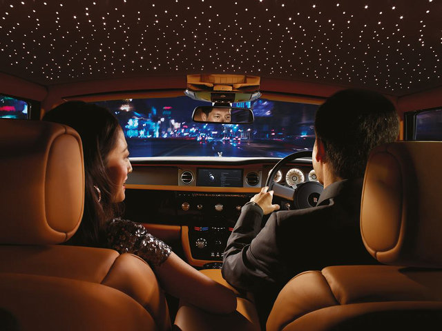 Roll Royce Starlight Headliner photo