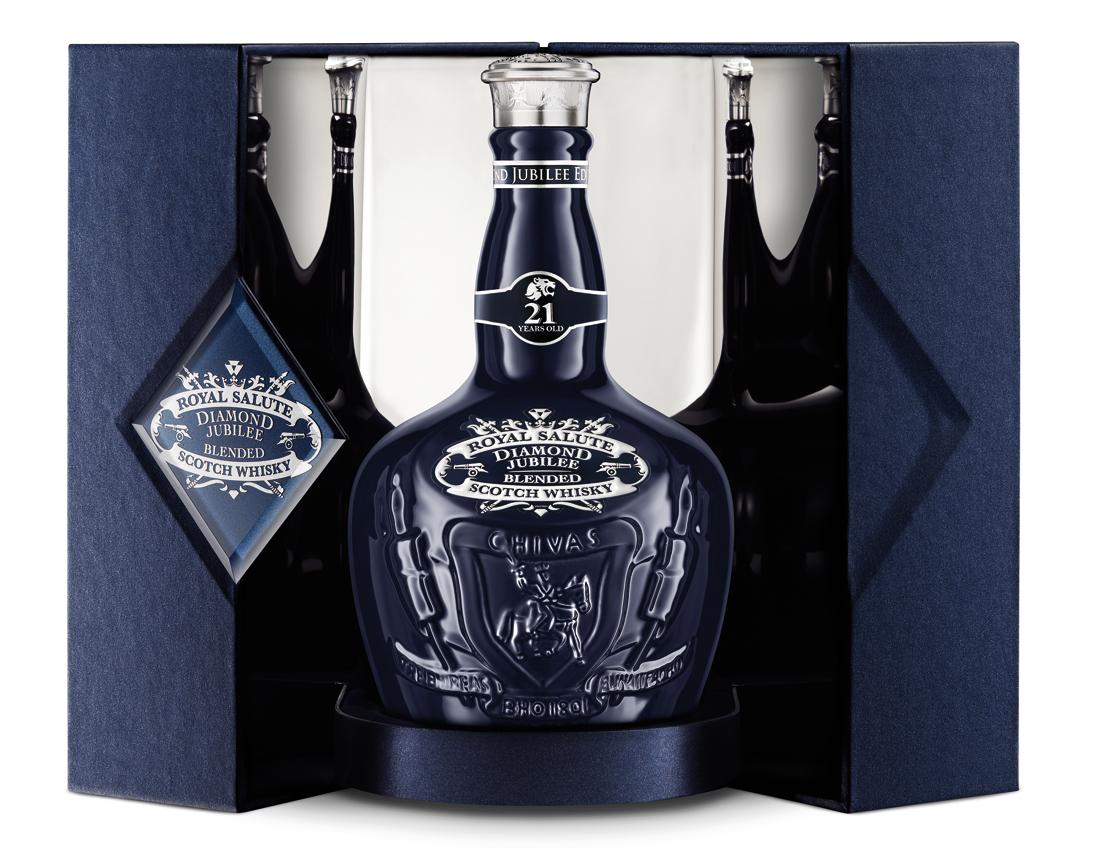 Royal Salute Diamond Jubilee bottle