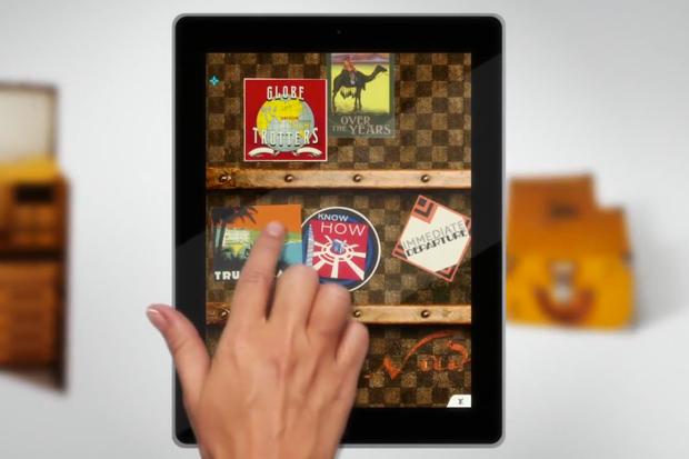 louis vuitton 100 legendary trunks ipad app