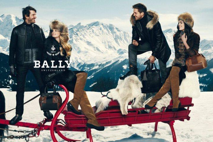 Bally Fall 2012 Ad Campaign Alps