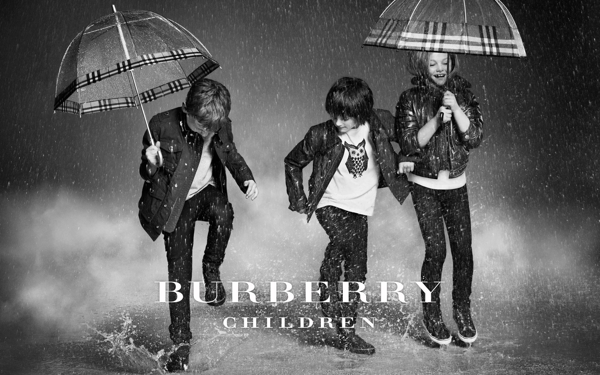 Burberry Childrenswear Fall Winter 2012 campaign
