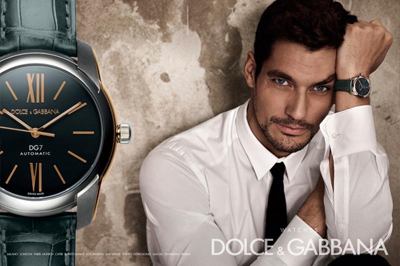 David Gandy Dolce and Gabbana Watches