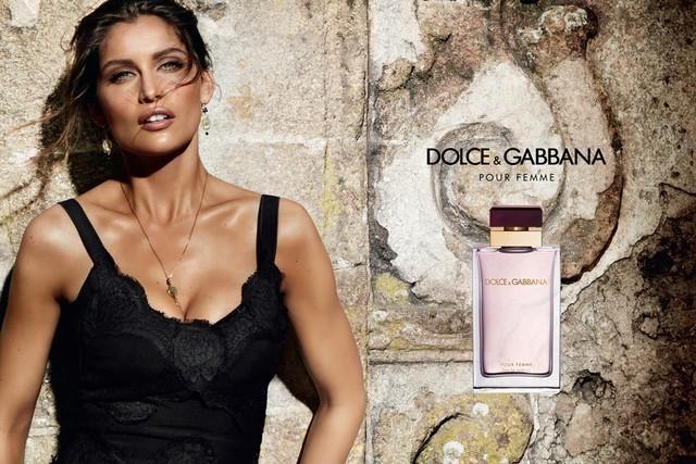 Dolce and Gabbana Pour Femme campaign Laetitia Casta