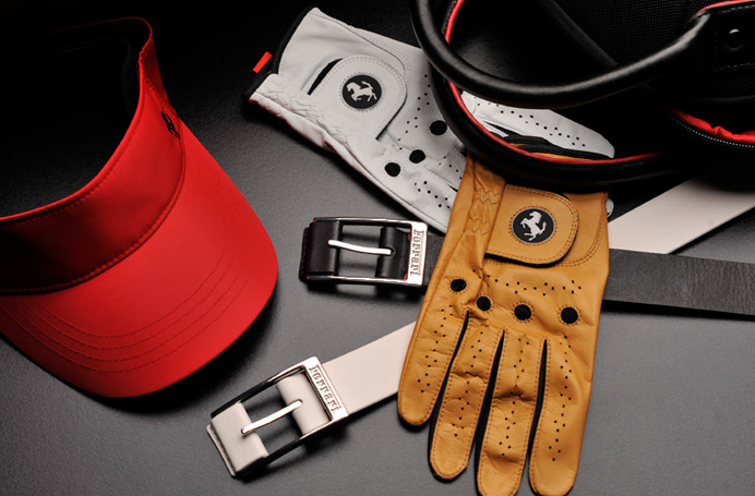Ferrari Golf Collection accessories