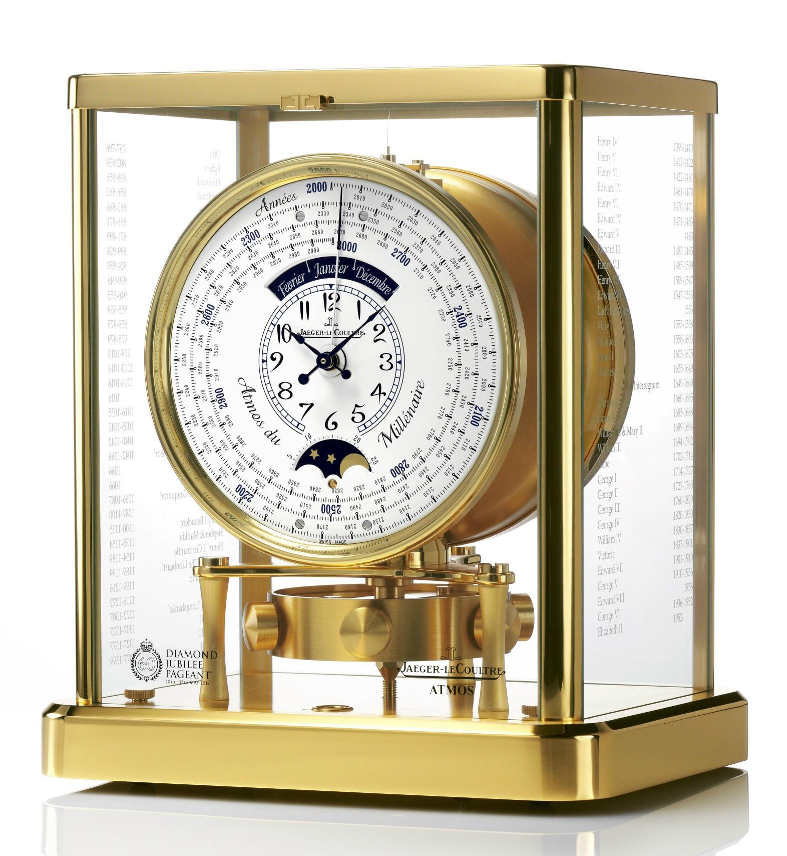 Jaeger-LeCoulture Atmos du Millenaire clock