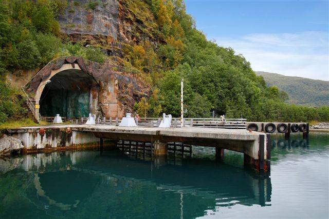 Norwegian Submarine Base For Sale