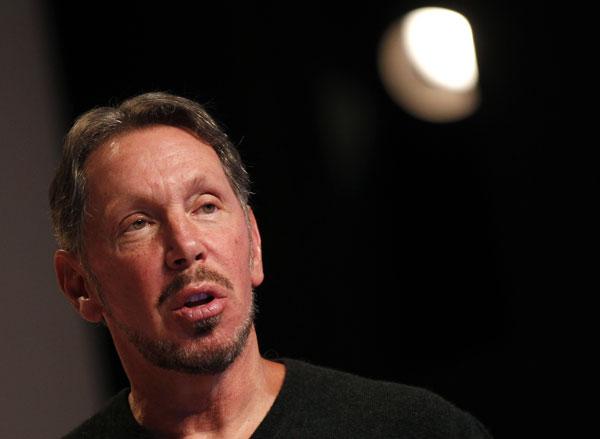 Oracle boss Larry Ellison