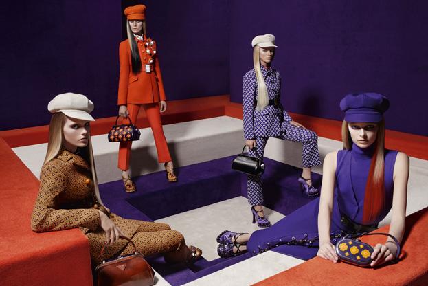 Prada Fall 2012 Campaign