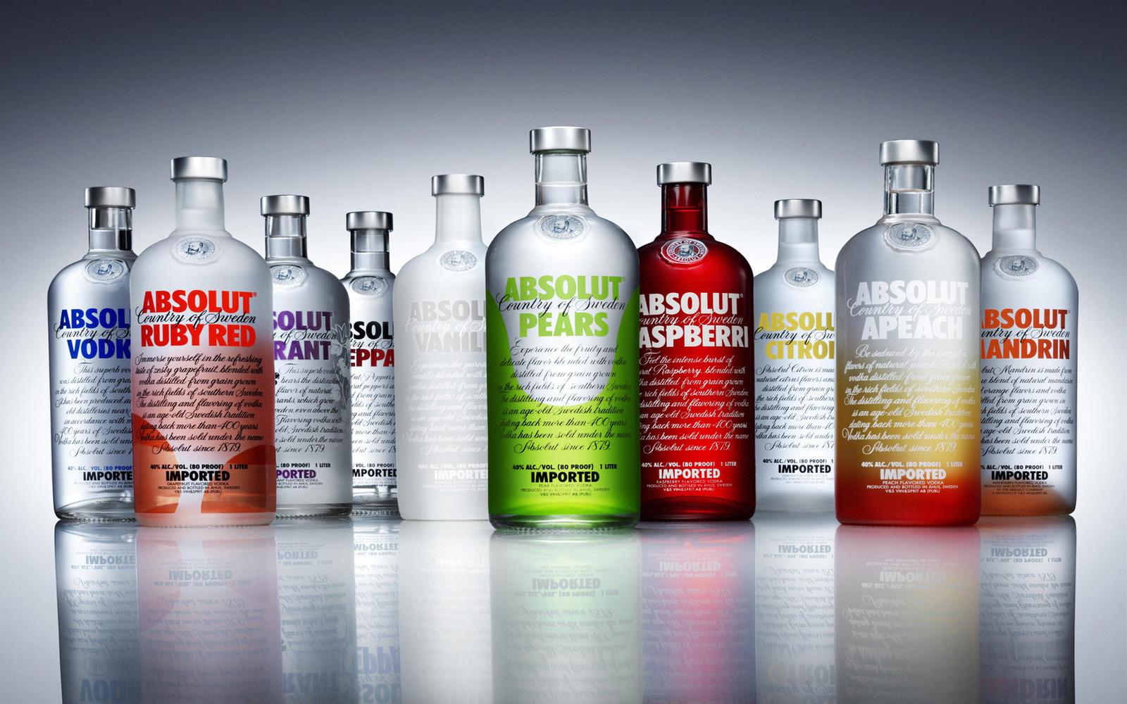 absolut vodka family