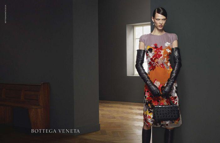 Aymeline Valade Bottega Veneta Fall 2012 Campaign