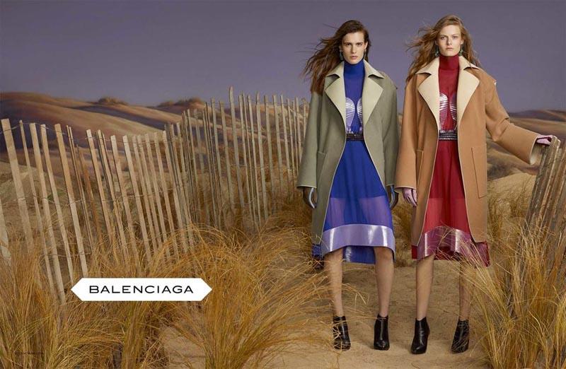 Balenciaga Fall Winter 2012 Ad Campaign