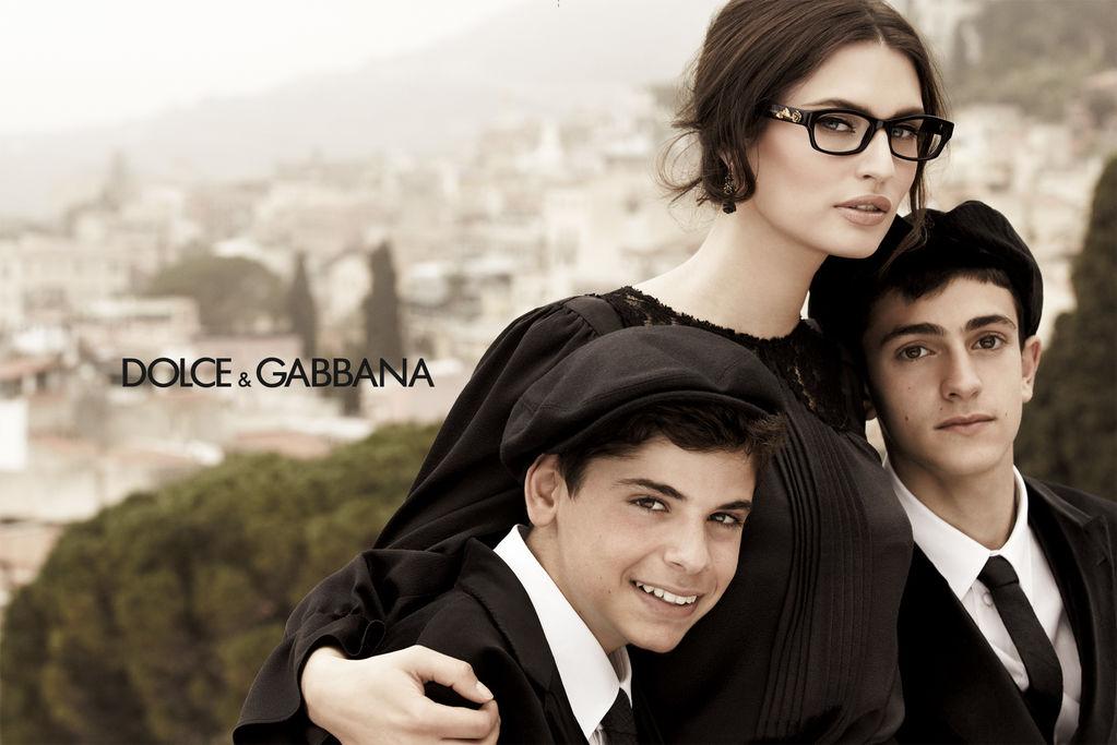 Dolce and Gabbana Eyewear Fall 2012 ad campaign