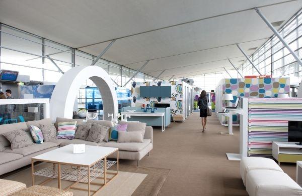 Ikea Lounge Paris Roissy airport