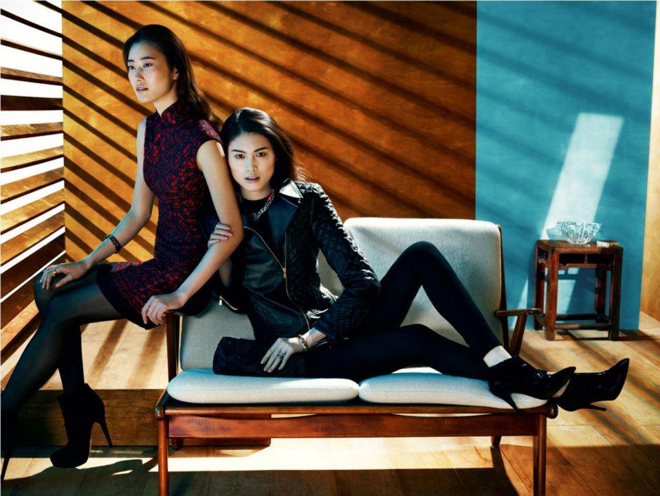 Lee Hyun Yi and Sui He