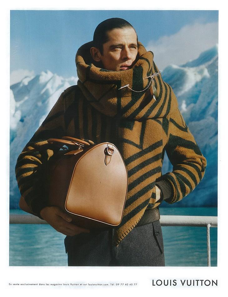 Louis Vuitton Man Fall 2012 ad campaign