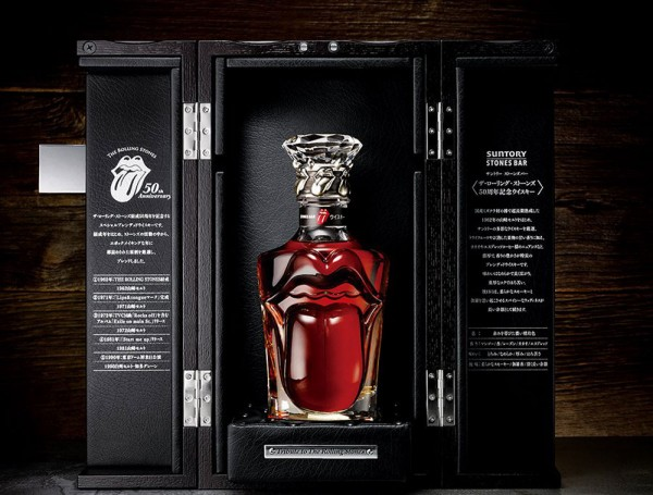 Suntory Rolling Stones special Whisky
