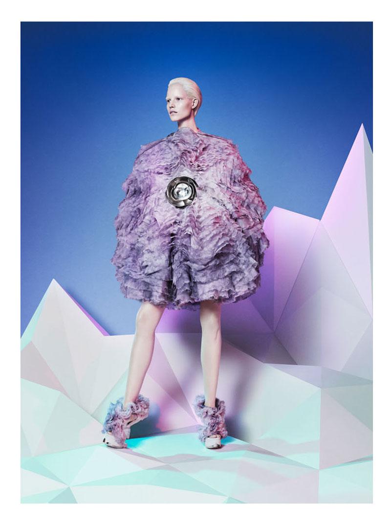 Suvi Koponen Alexander McQueen Fall 2012 Campaign