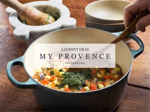 Laurent Gras My Provence cookbook