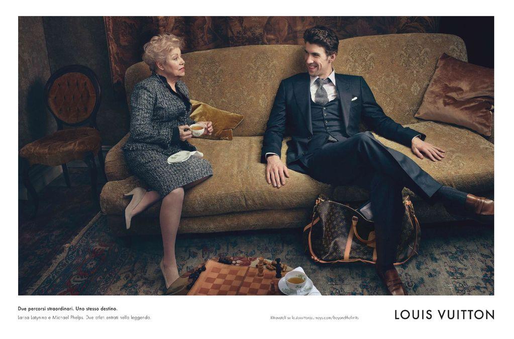 Michael Phelps Louis Vuitton campaign