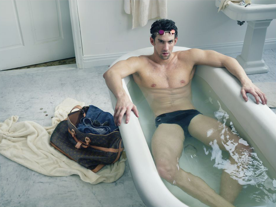 Michael Phelps Louis Vuitton