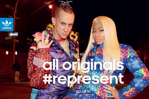 Nicki Minaj and Jeremy Scott