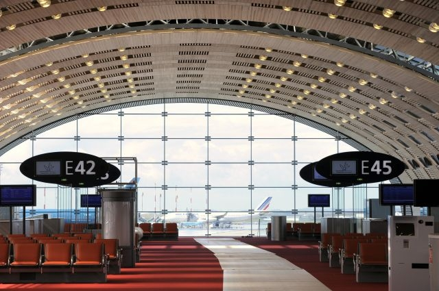 Paris Charles de Gaulle airport Terminal E