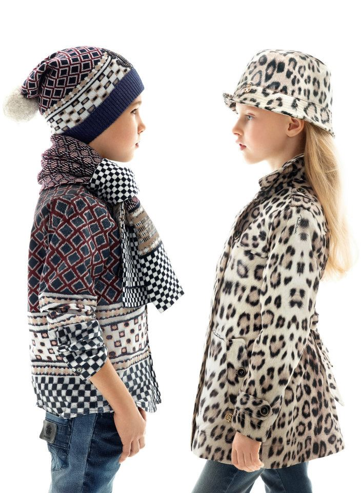 Roberto Cavalli Fall Winter 2012 kids collection