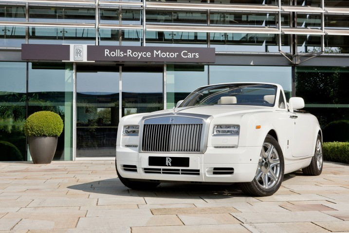 Rolls-Royce Phantom Coupe London 2012 Olympic
