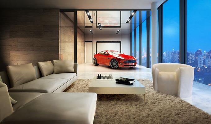 Singapore Sky Garage Apartments