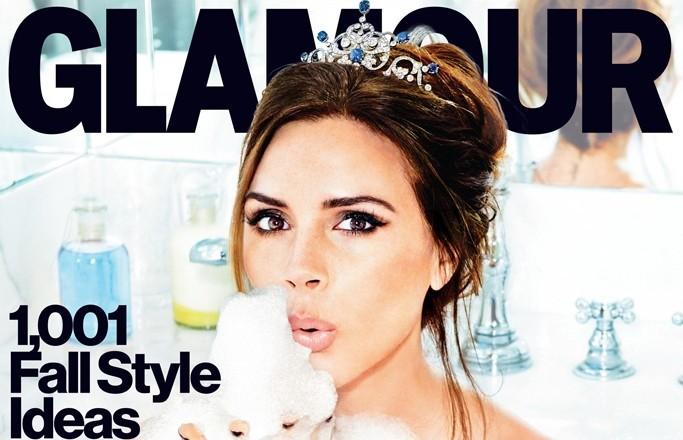 Victoria Beckham Glamour magazine