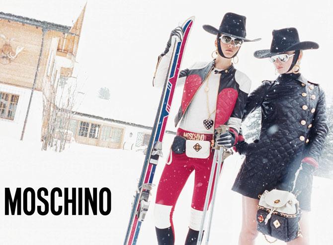 Moschino Fall 2012 Campaign