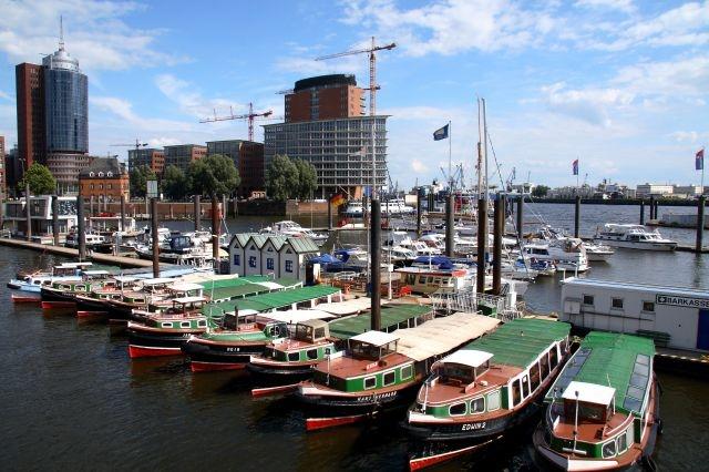 port of Hamburg Germany