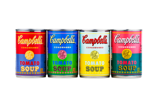 Andy Warhol Campbell Soup cans