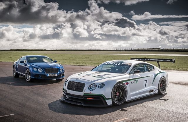Bentley Continental GT3 and Continental GT