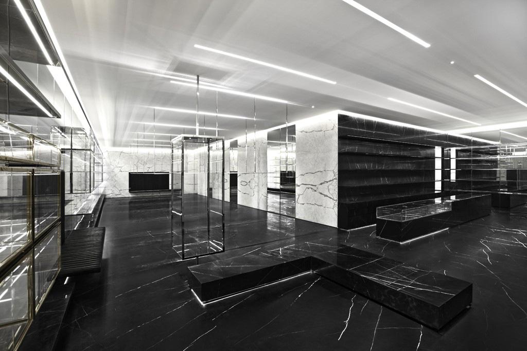 Saint Laurent Paris boutique Shanghai
