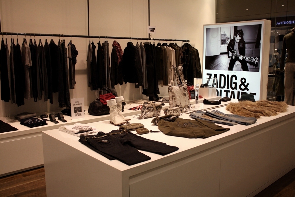 Zadig and Voltaire store