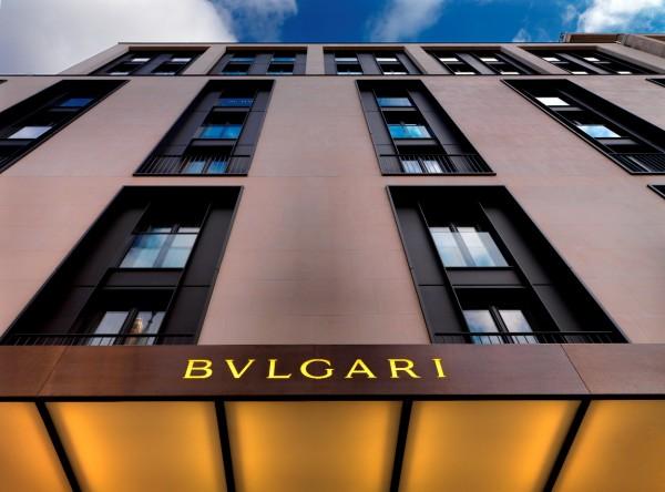 bvlgari hotel Facade