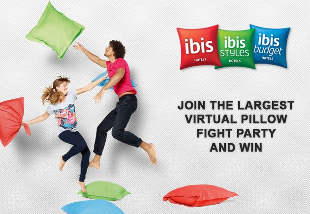 Ibis pillow fight
