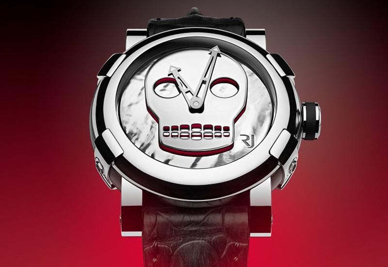 Romain Jerome John M Armleder watch