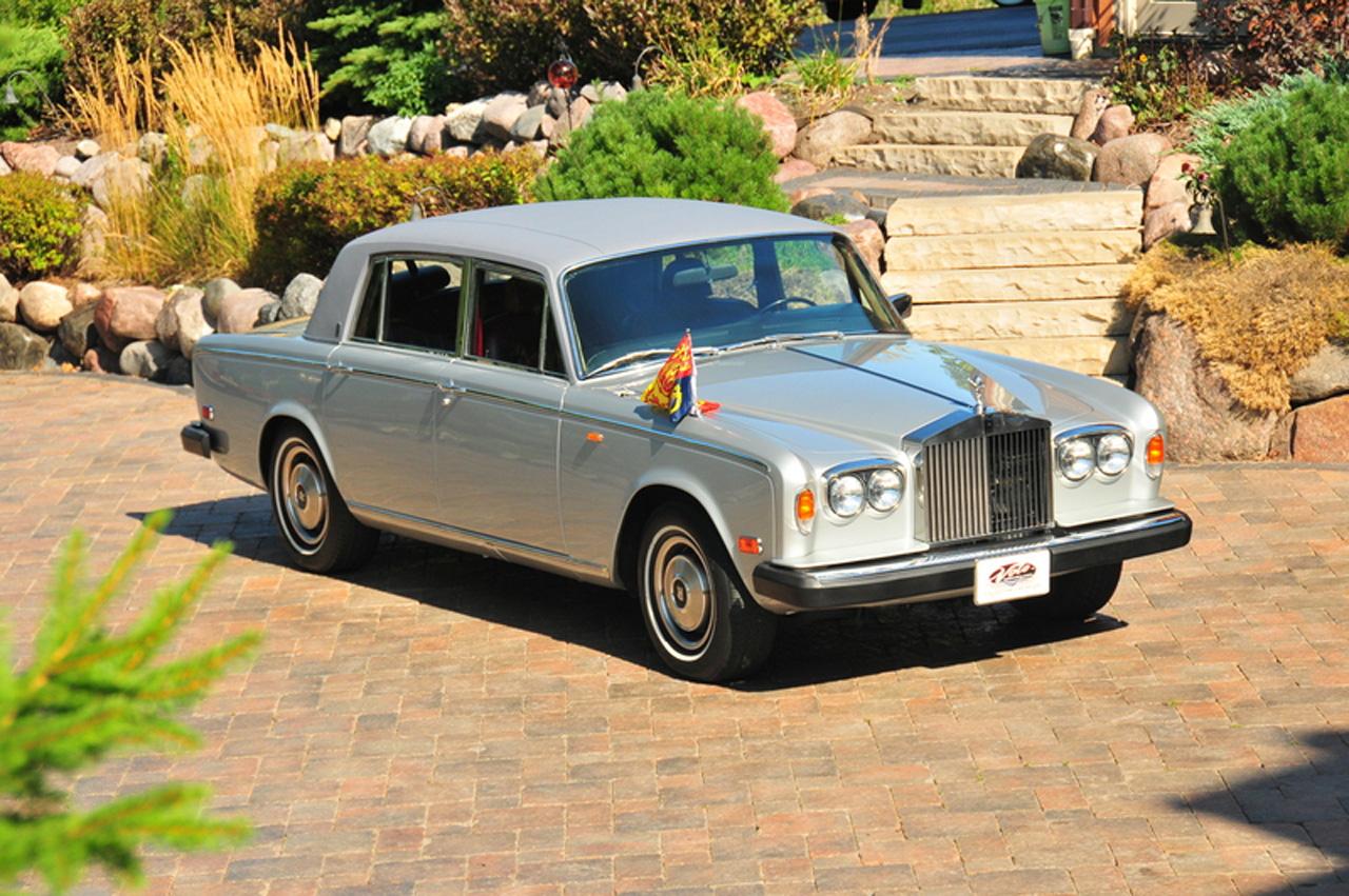 Princess Diana 1979 Rolls-Royce Silver Shadow