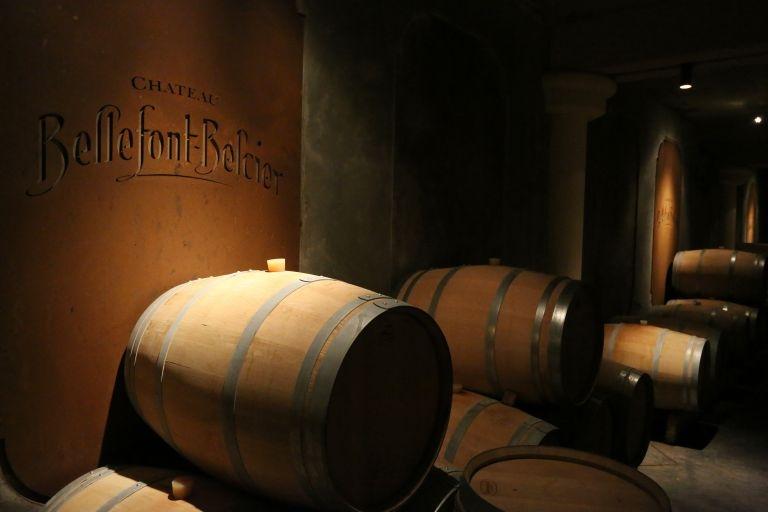 cellar Chateau Bellefont Belcier